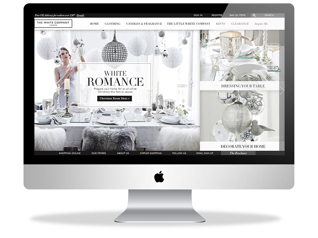 white-company-web-design