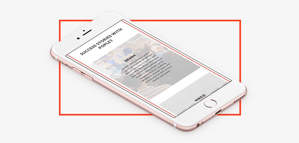 Wordpress mobile layout for POPLET