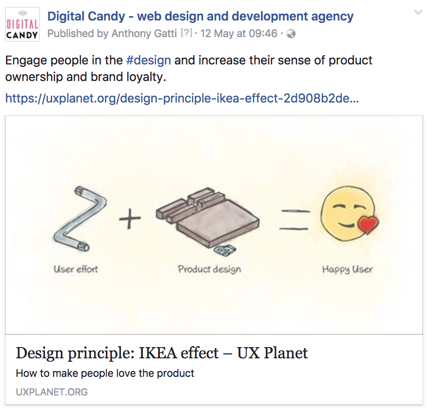 URL Preview Image on Facebook