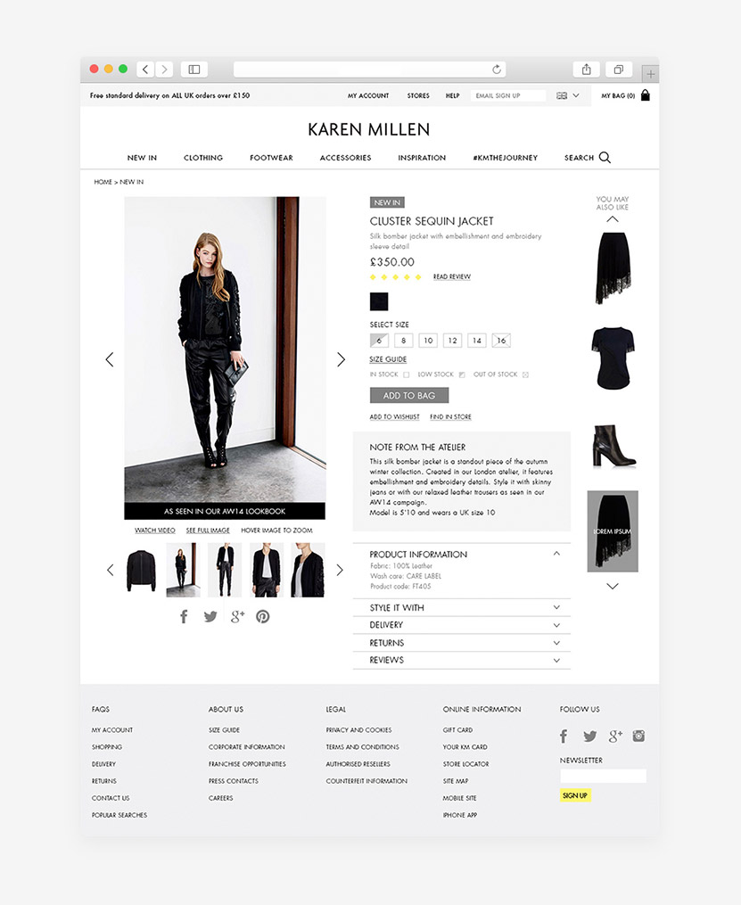 product page layout product photography ecommerce tips